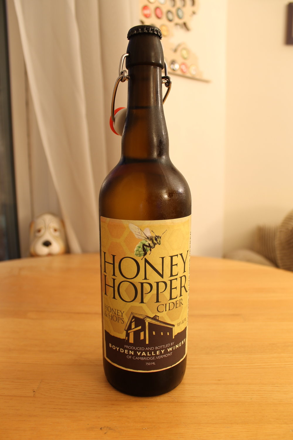 Boyden Valley Winery: Honey Hopper