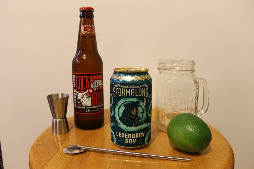Cider Mule Ingredients
