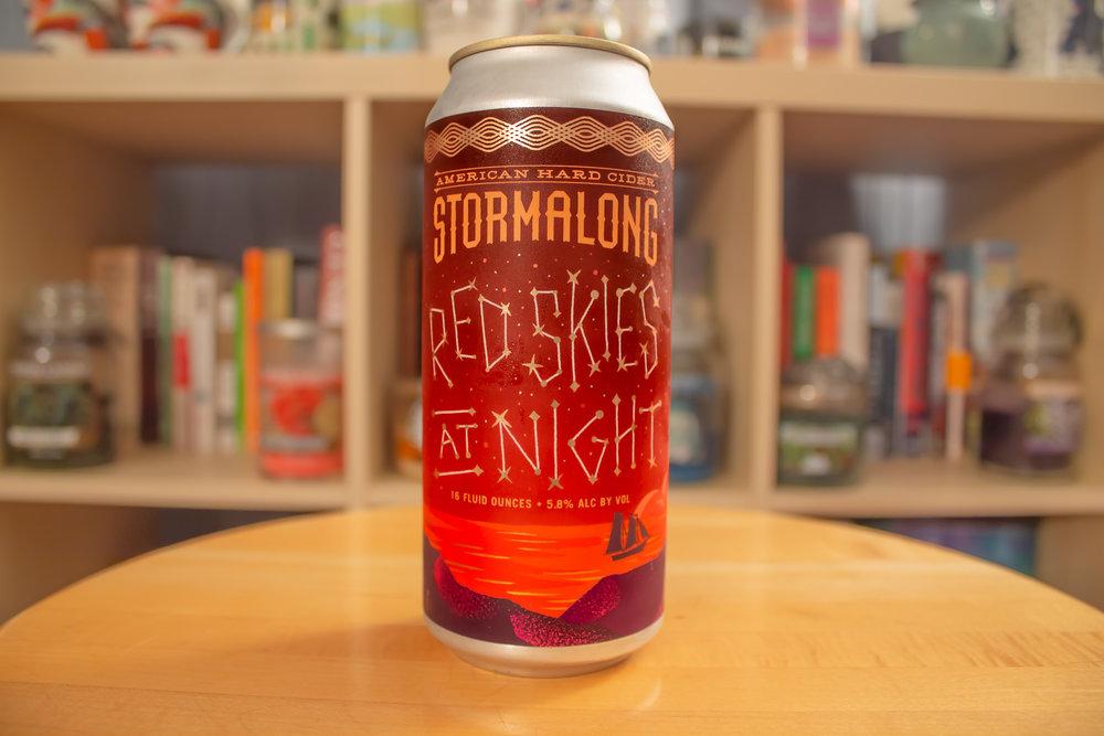 Stormalong: Red Skies at Night