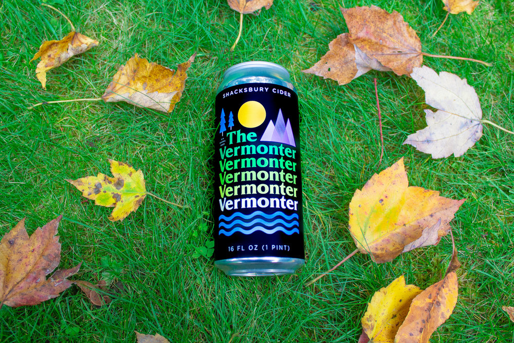 The Vermonter hard cider