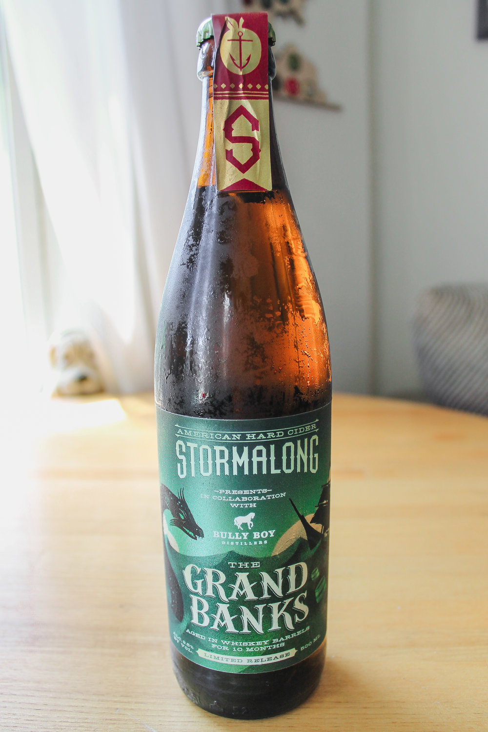 Grand Banks Whiskey Barrel Aged Cider