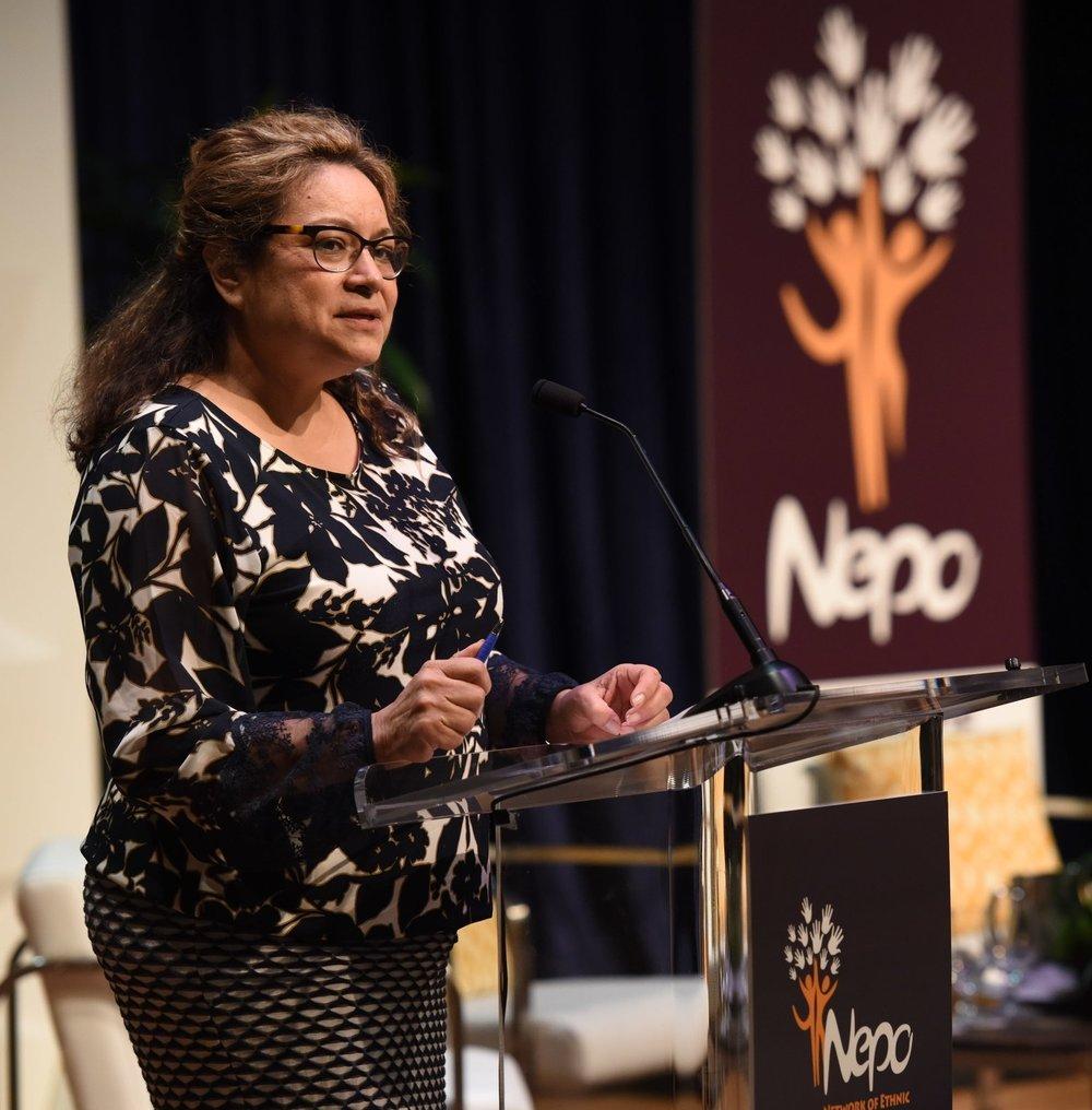 Dr. Margaret Juarez, NEPO Chair