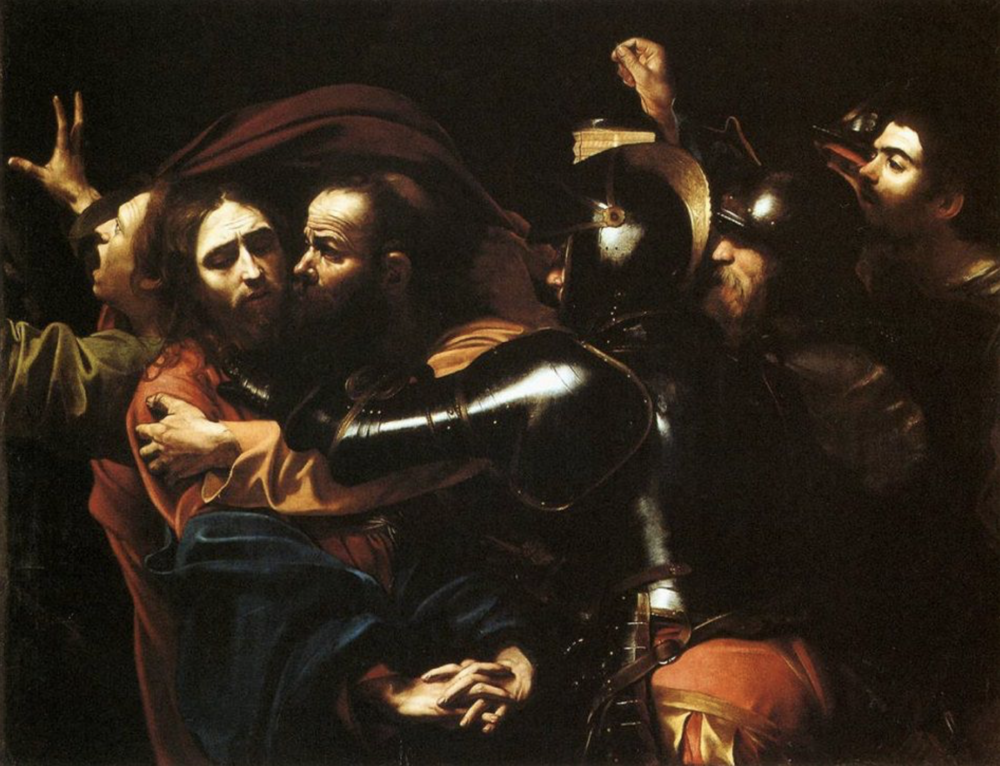 Caravaggio, Taking of Christ