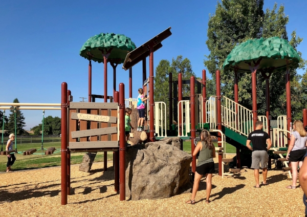 The new Henry Glaves playground