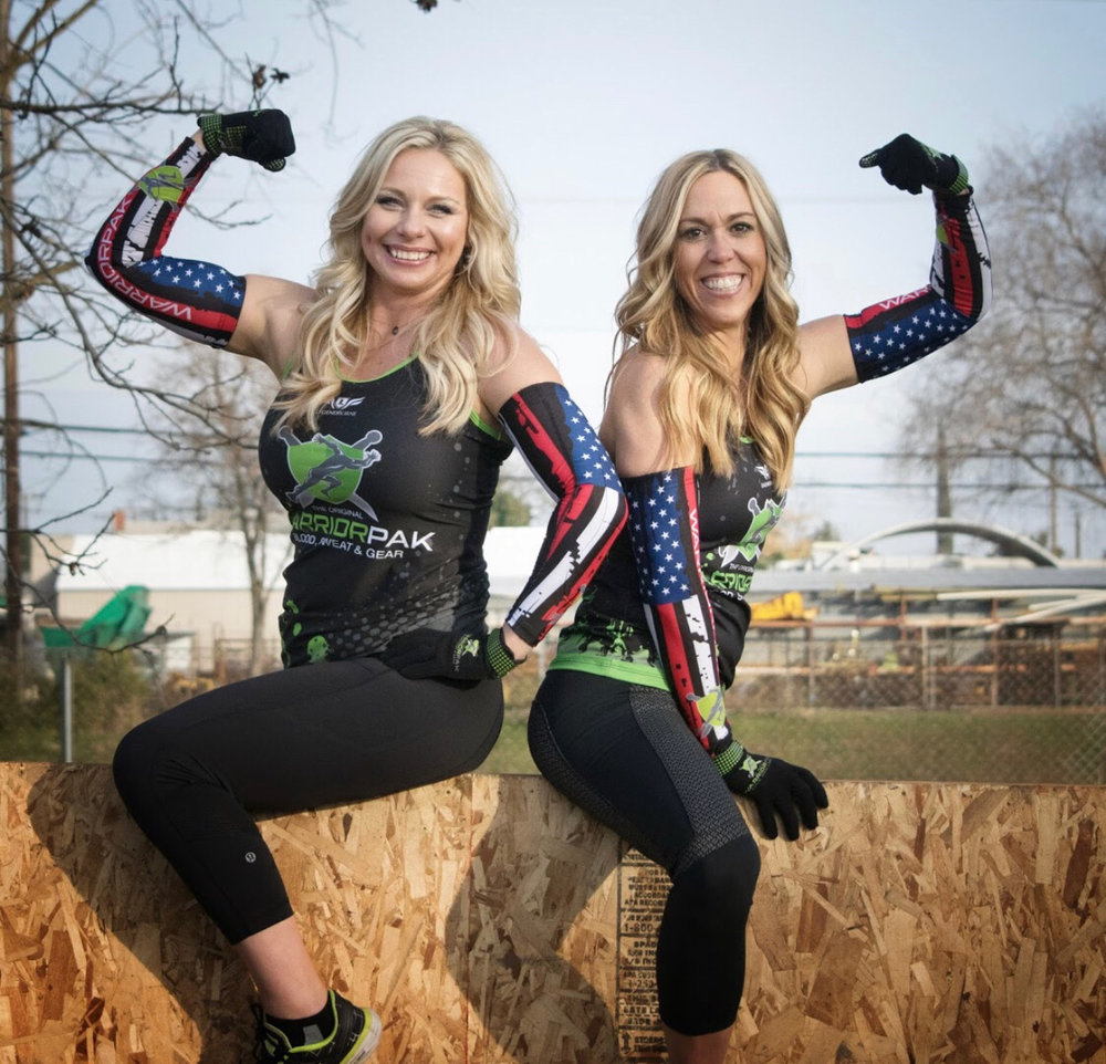 Tracey & Kelly, founders of the Orignal Warrior Pak