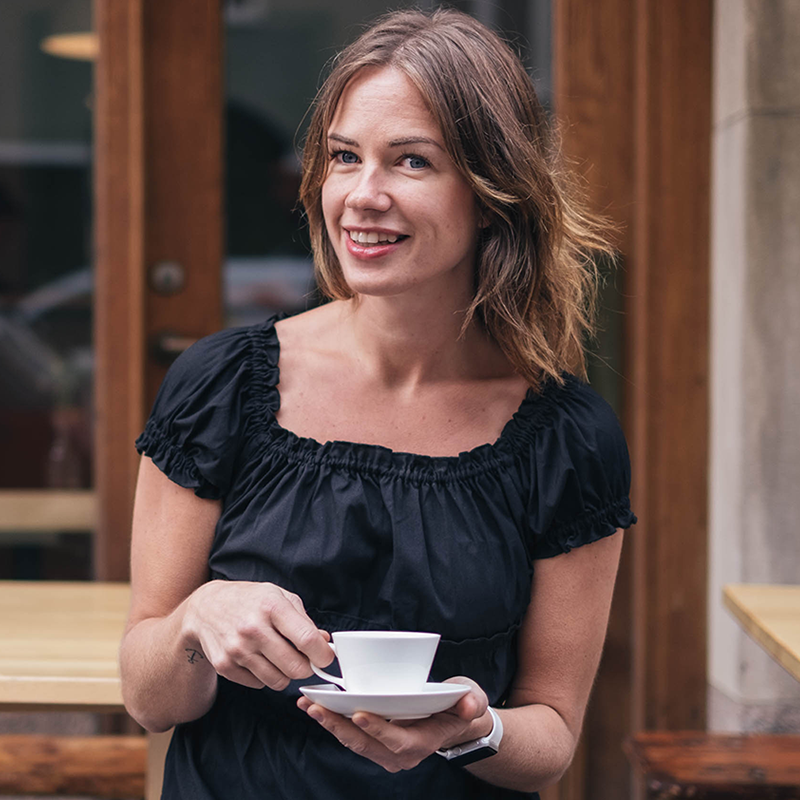 Joanna Alm - Part-owner and Managing Director at Drop Coffee