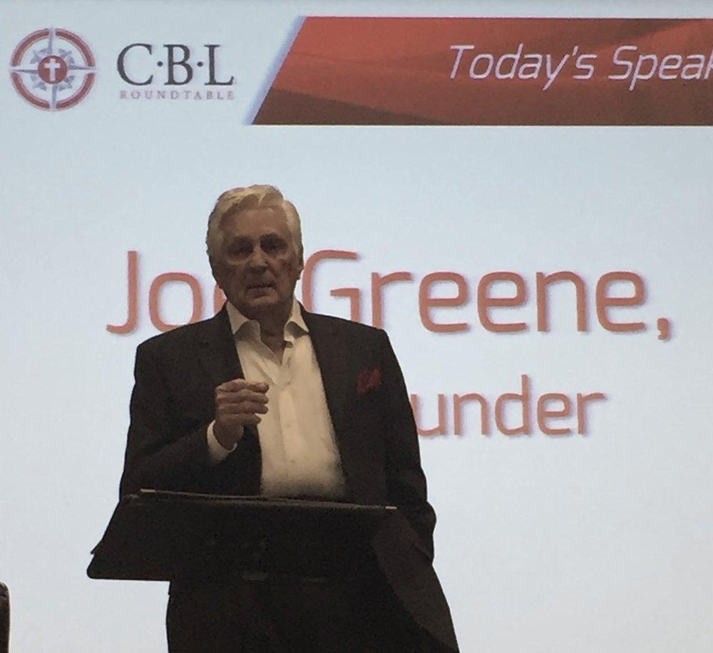 Joe speaking at CLB 12152015.jpg