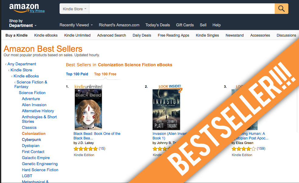 AmazonBestsellerScreenshot