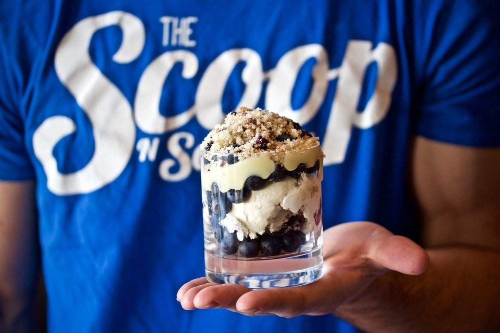 SCOOP AND SCOOTERY ICE CREAMERY