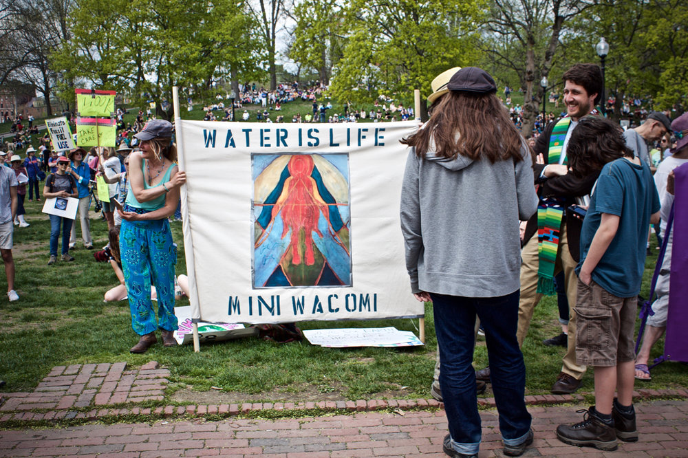 WATER IS LIFE -  RALLY FOR ENVIRONMENTAL RIGHTS