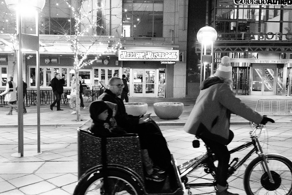 Bike Carriage Rides along the 16th Street Mall