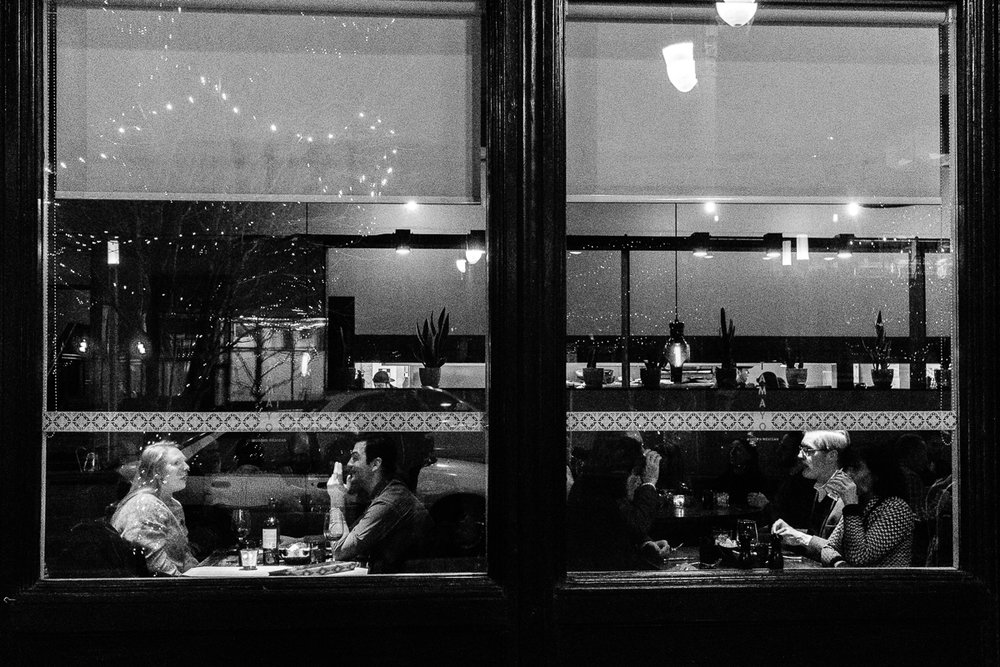 Conversation and Dinner at Tamayo in Larimer Square