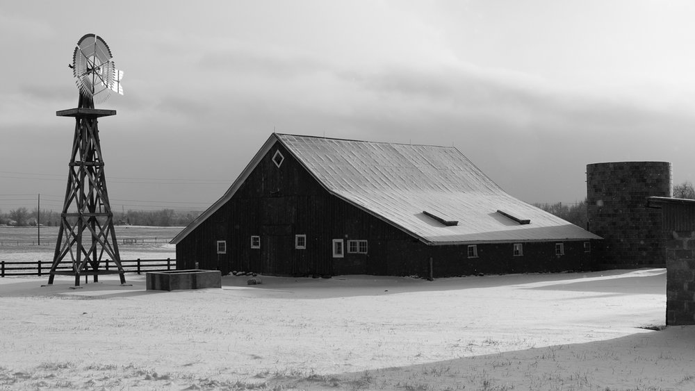 Day 45 - 365 Day B&W Photo Challenge - 17 Mile House - Fuji XT2, XF35mm f/2, Acros R Film Simulation
