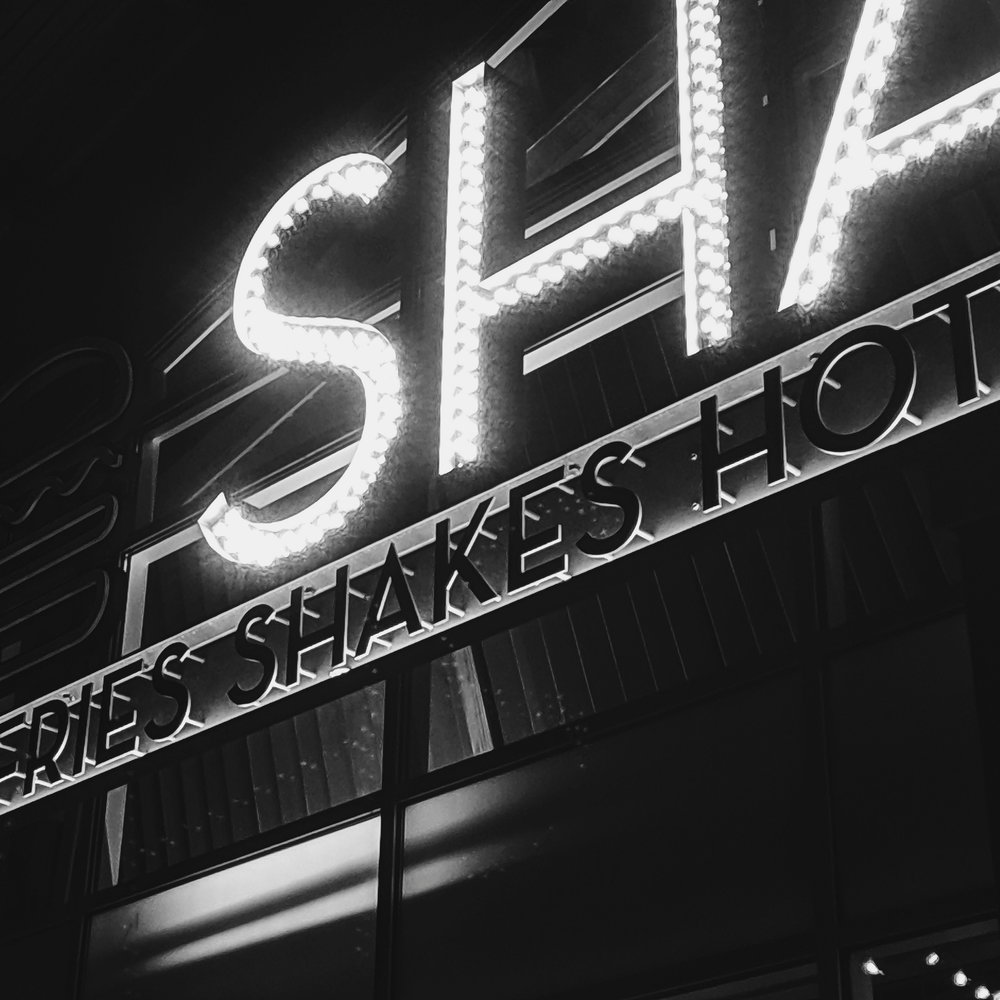 Day 84- 365 Day B&W Photo Challenge - Denver's first Shake Shack located in the RINO District- Google Pixel 3, Moment 58mm Tele Lens, VSCO B3 Simulation