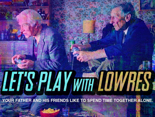 LET'S PLAY WITH LOWRES  // Comedy - Gaming  // 2 Seasons (2018-) // 7 Episodes