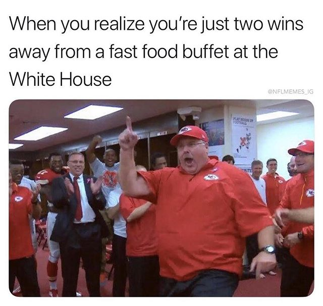 NFL CHAMPIONSHIP TODAY🏈⠀⠀⠀⠀⠀⠀⠀⠀⠀ Rams vs Saints @ 12:05pm⠀⠀⠀⠀⠀⠀⠀⠀⠀ Pats vs Chiefs @ 3:40pm⠀⠀⠀⠀⠀⠀⠀⠀⠀ ⠀⠀⠀⠀⠀⠀⠀⠀⠀ Consume plenty of wings, burgers, and beers and watch Andy Reed fight for that White House Visit⠀⠀⠀⠀⠀⠀⠀⠀⠀ ⠀⠀⠀⠀⠀⠀⠀⠀⠀ Meme Creds: @nflmemes_ig ⠀⠀⠀⠀⠀⠀⠀⠀⠀ *⠀⠀⠀⠀⠀⠀⠀⠀⠀ *⠀⠀⠀⠀⠀⠀⠀⠀⠀ *⠀⠀⠀⠀⠀⠀⠀⠀⠀ *⠀⠀⠀⠀⠀⠀⠀⠀⠀ #mothersob #motherssaloon #oceanbeach #sportsbar #obbars #morethanbarfood #sddrinks #sliders #burgerporn #sdeats #youstaythirstysd #sandiegobarscene #sandiegodrinking #sandiegofoodbloggers #sandiegofoodie #sandiegofood #sdfoodie #sdfoodies #sandiegofoodies  #drinksandiego  #drinkstagram  #sandieogeater #zagat #coastcreative #nflmemes #nflchampionshipweekend #SBLIII #NFLSD
