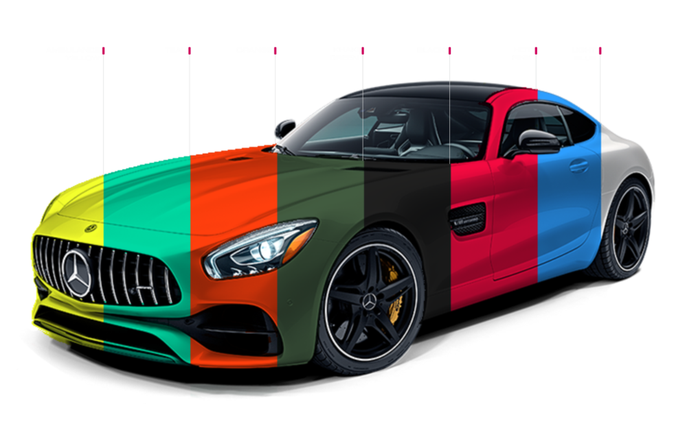 WIDEST RANGE OF WRAPS AVAILABLE -