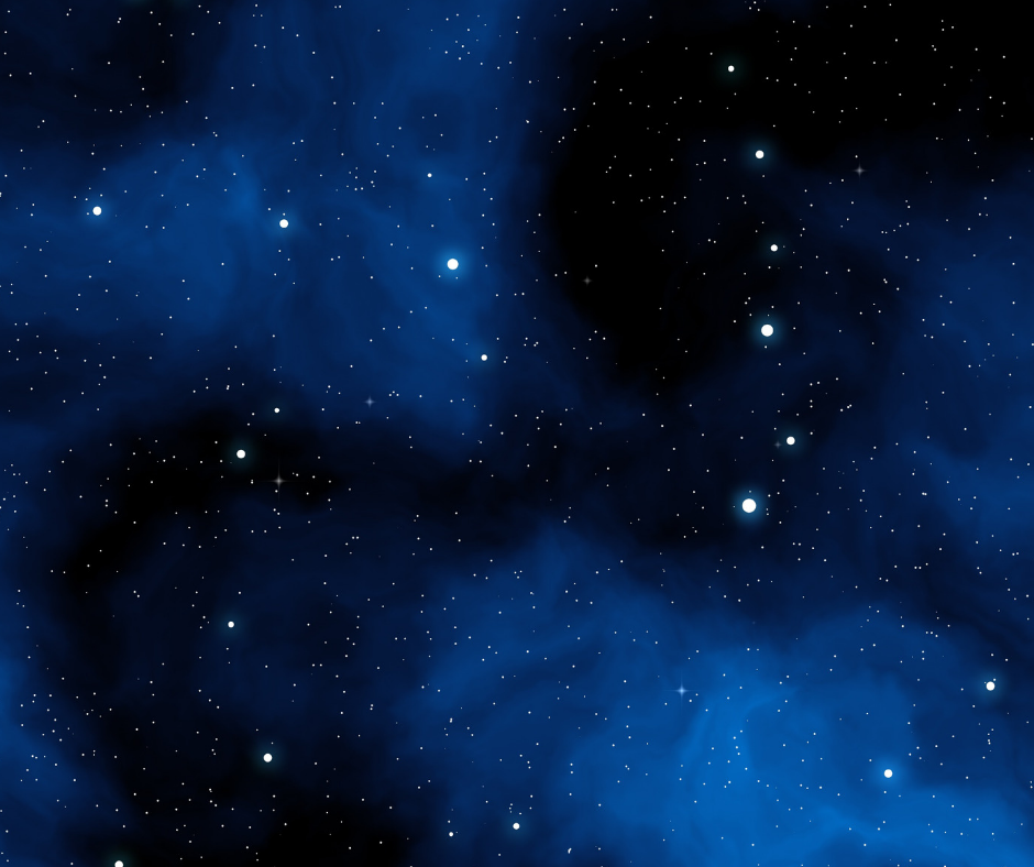 Dark blue nebula