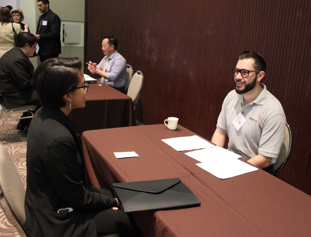 """Helping the students opened up my eyes to see what the future could look like for the next generation. I really enjoyed this experience."" - -Hector Romero, HSBC, Volunteer Interviewer for EXP's Mock Interviews, Internship Program"