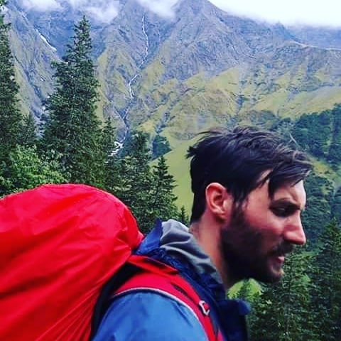 In the backcountry you bust out a 20 mile day from time to time. Coffee and the sunrise in an isolated and beautiful place is the reward. Disheveled hair is another... #backpackingeurope #hiking #hikingadventures #ontheroadagain #goodhairday #rain #mist #mountains #americanwildtrekking #americandream #bloodsweatandtears #intothewild #herosjourney #alps