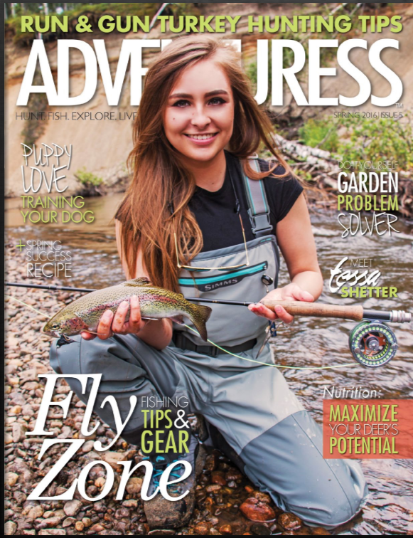 Covergirl Adventuress Magazine 2016
