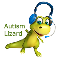 Autism Lizard logo
