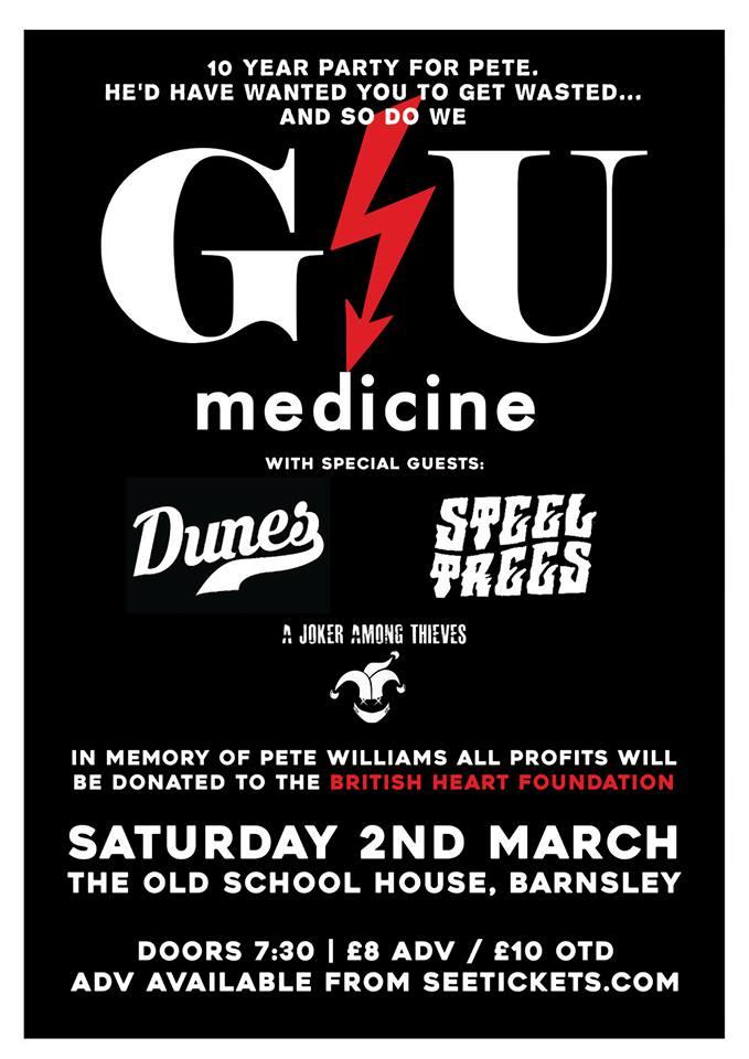 GU Medicine poster