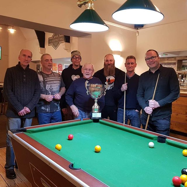 🏆 Congratulations to the Old School House pool team, for winning the Monday Night Division 2 title. Well done gents & bring on Division 1! 🎱🔥🔝#pool #mondaynightpool #barnsley #champions #promotion #topoftheleague #barnsleyisbrill