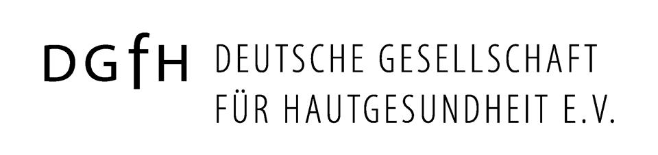 DGfH Logo –KOMPAKT  - FÜR HELLE Hintergründe