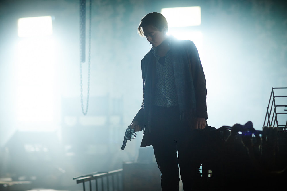 Sarah Snook as John in  Predestination .