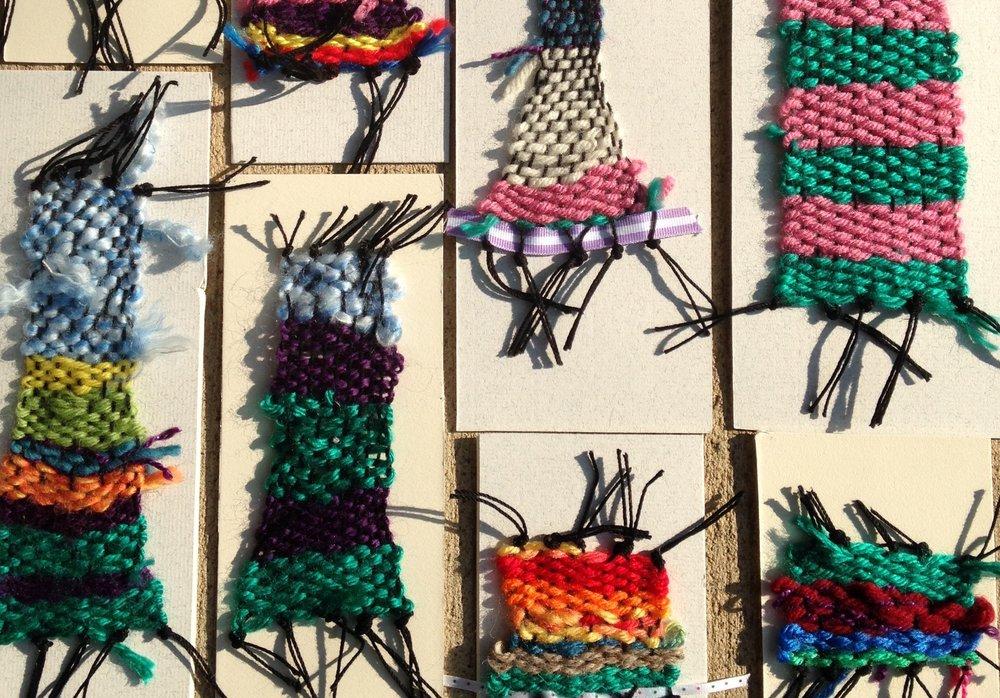 elementary student weavings.jpg