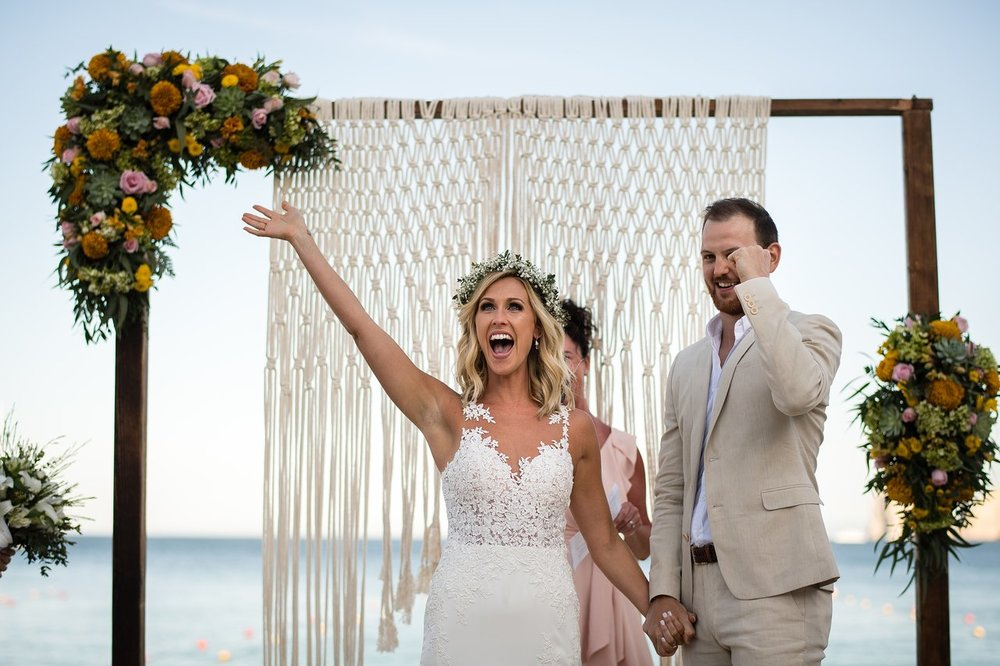 WEDDING REVIEW: - I honestly do not even know where to start with all the wonderful things I have to say about Bahia Hotel and the people that work there! My husband (boyfriend at the time) and I stayed at Bahia for the first time in January of 2017, we picked it because of the amazing reviews...Read full review.