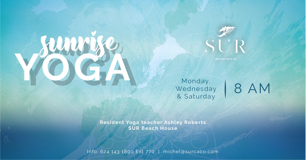 Yoga at SUR