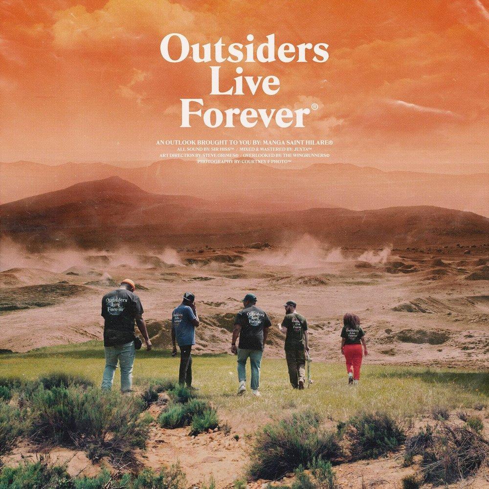 MANGA SAINT HILARE - OUTSIDERS LIVE FOREVER -
