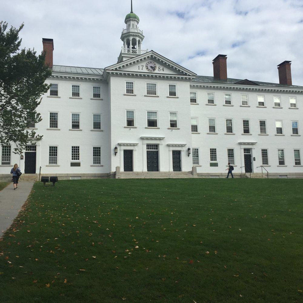 Dartmouth Hall | Credit: Lola Adewuya
