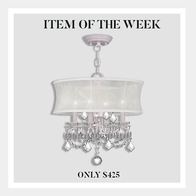 Check out our latest item of the week- a designer favorite at ACL Designs. Give us a call or stop in to see additional size and finish options! #interiordesign #chandelier #design #homedecor #longisland #designer #sale