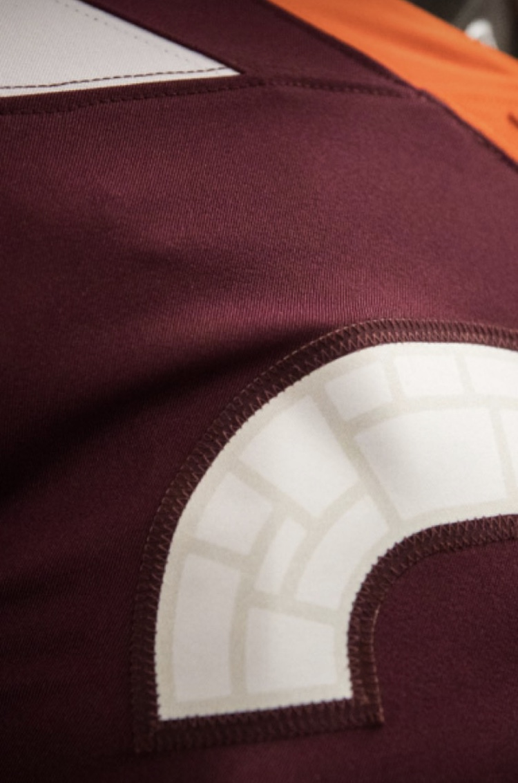 - We see that Nike and Virginia Tech took the Hokie Stone and created a pattern that will be found within the numbers of each of their new jerseys.