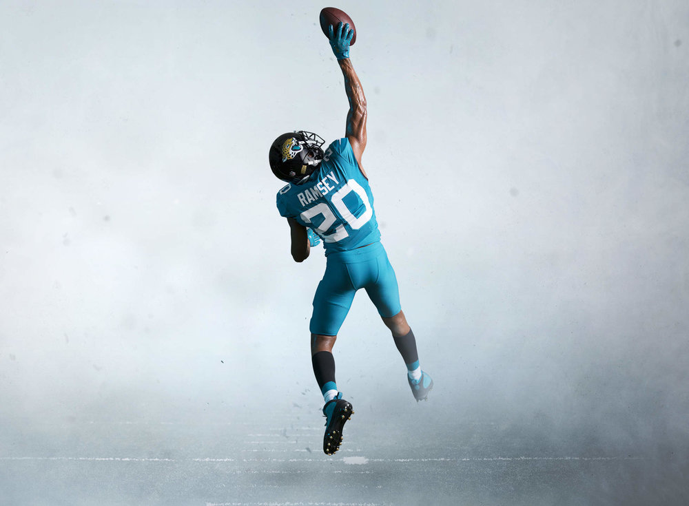 - For the first time in franchise history the Jaguars will have Teal pants to create an all teal uniform. This look will serve as their Color Rush and Alternate uniform and we could see it up to 3 times this season.