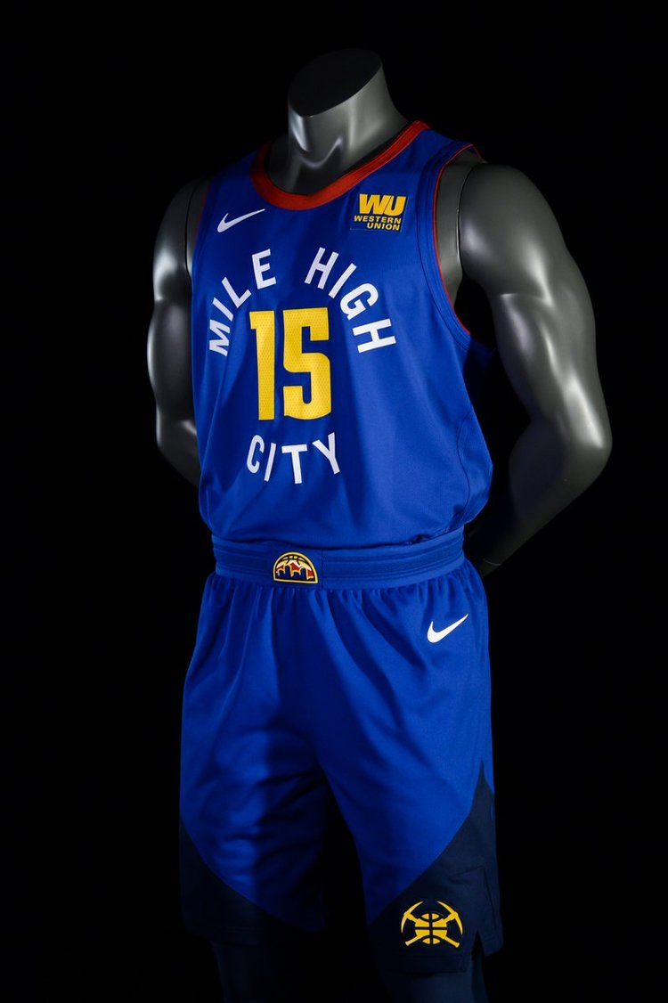 New Uniforms for the Nuggets — UNISWAG d3b3ef698