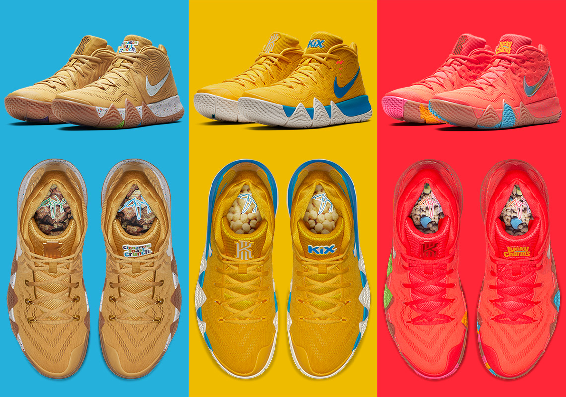 premium selection c7f59 dd5bd Kyrie 4s