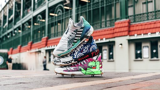 pretty nice 72f65 36aa4 Kris Bryant's Players Weekend Cleats — UNISWAG