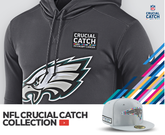 free shipping ef7b4 296fc NFL Crucial Catch Gear — UNISWAG