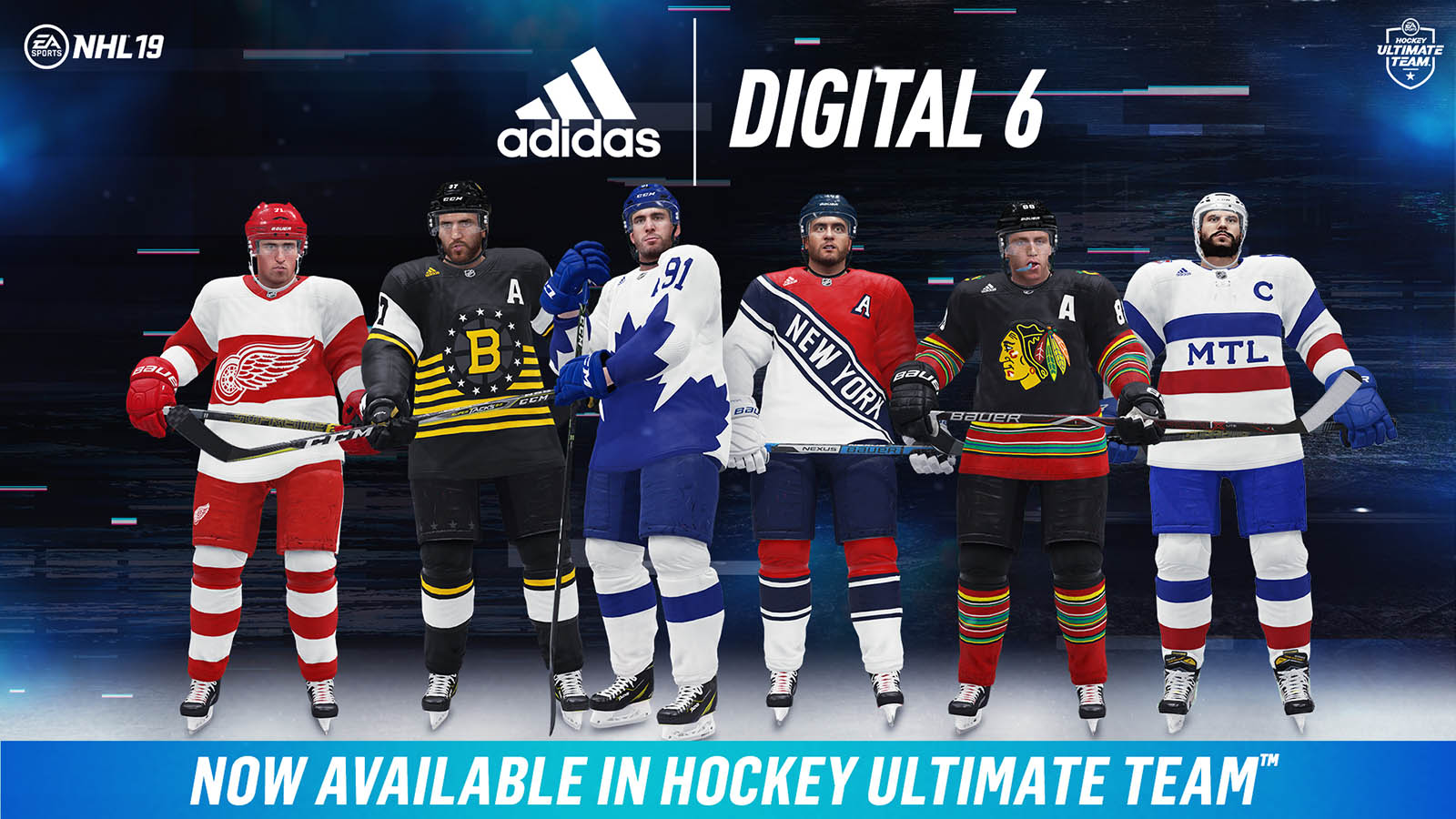 bde413b7b17 Digital 6 Jerseys for NHL 19 — UNISWAG