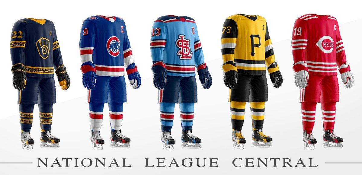 MLB x NHL Uniforms — UNISWAG 46722c16b