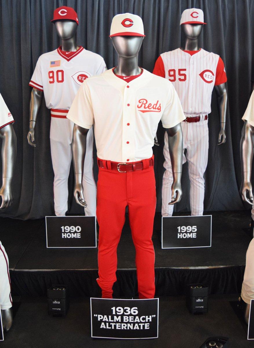 aa087e578 Cincinnati Reds 150th Season Throwback Uniforms — UNISWAG