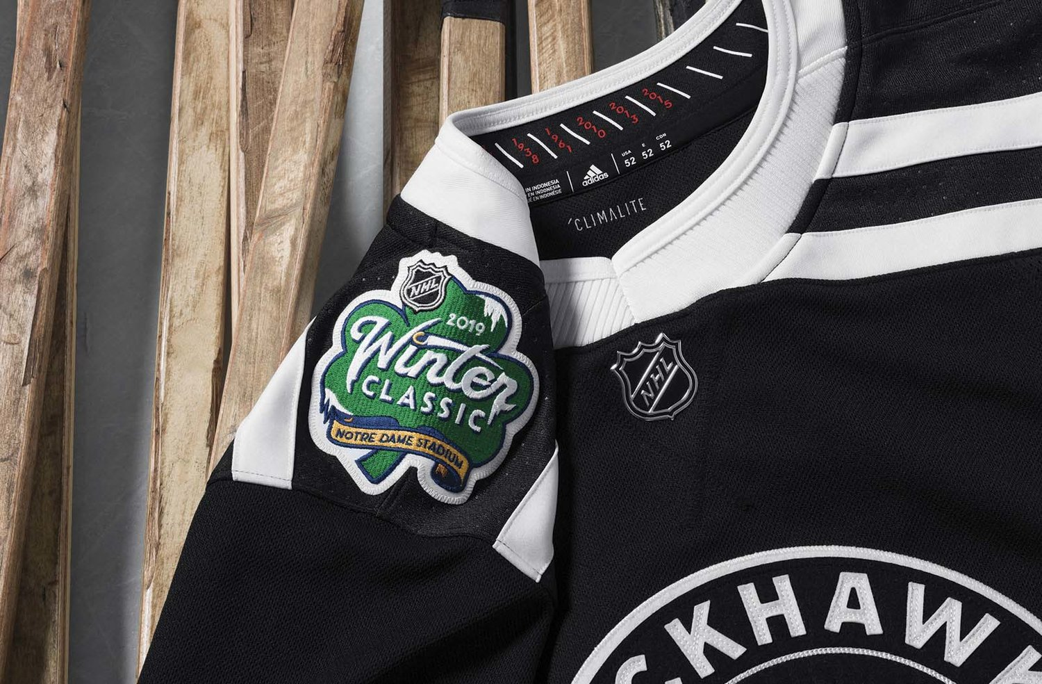 Chicago Blackhawks Winter Classic Jersey — UNISWAG 60a6edb8d
