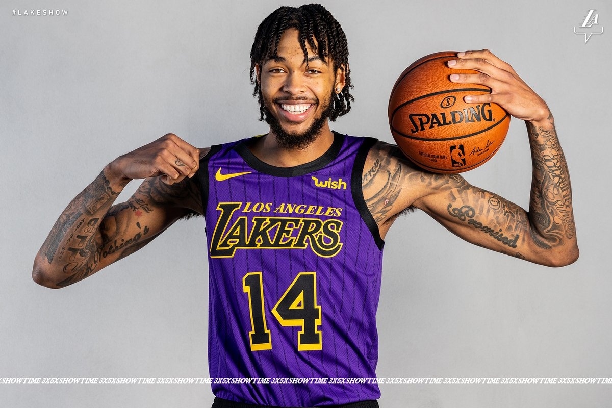53cc5654e Lakers  City Edition  Uniform — UNISWAG
