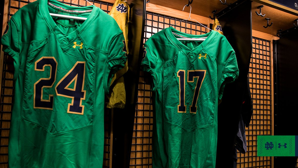 Notre Dame Green Jersey — UNISWAG cc44c8a88