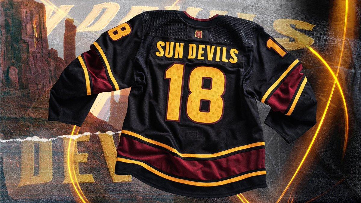 Arizona State Hockey s Black Unis — UNISWAG 51c79061a