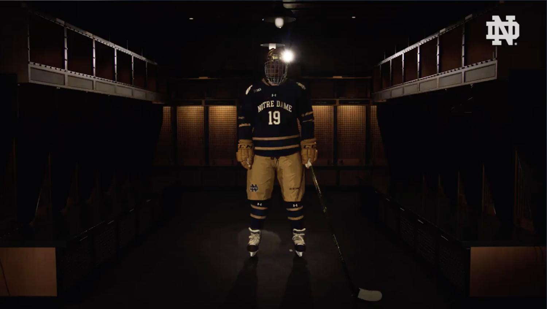 Notre Dame Hockey Special Uniform — UNISWAG 6c662077192